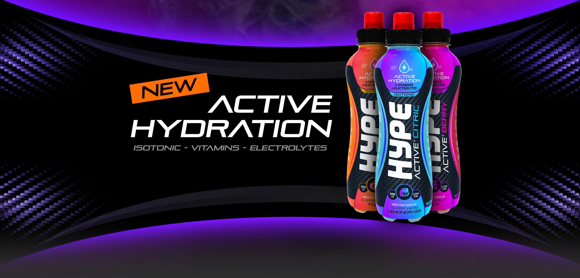 New Product Range: Hype Active