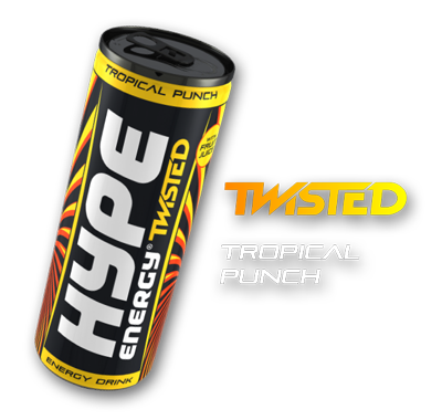 Hype Energy Twisted Tropical